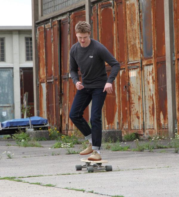 12 DLOOP 75 Raw Comfort Slim Skateboard