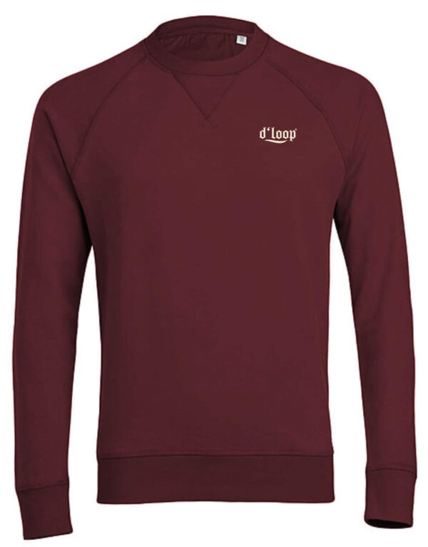 DLOOP BURGUNDY BIO SWEAT 2