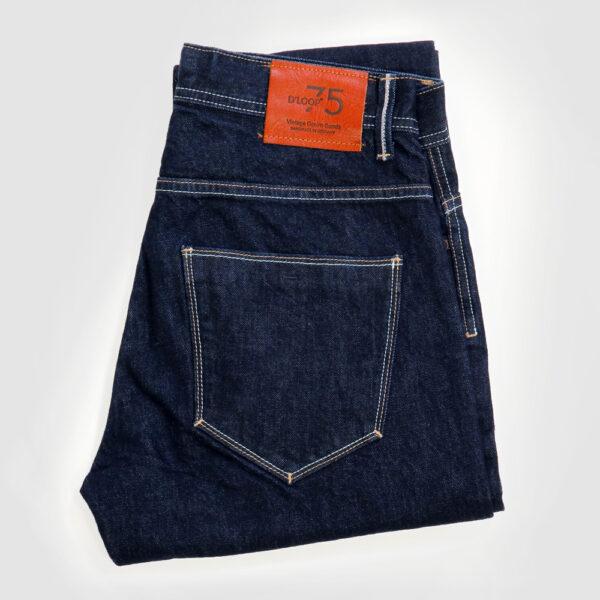 DLOOP Jeans 75 Comfort Slim Folded Details 2
