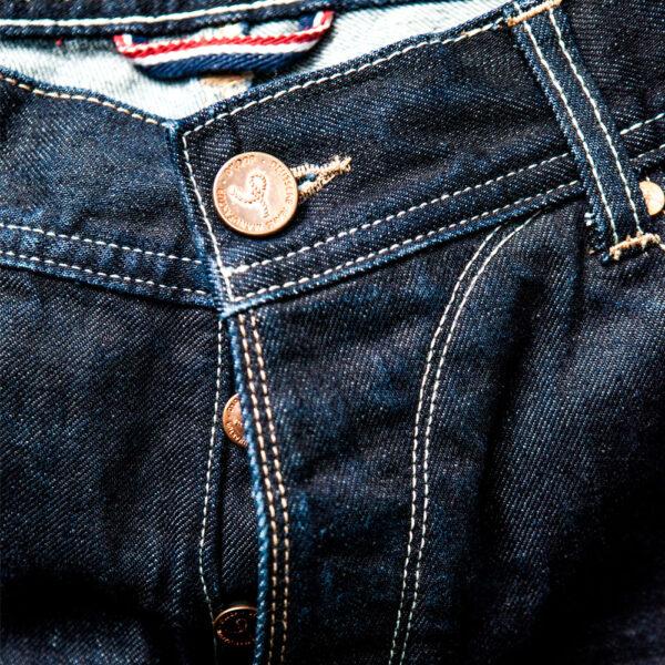 DLOOP Jeans 75x Comfort Slim Front Fly Details 1