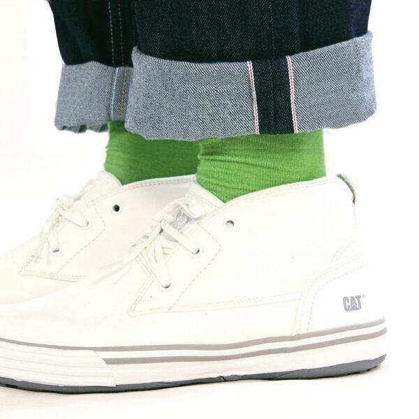 DLOOP Jeans 75x Comfort Slim Selvedge Bottom Hem Details 1